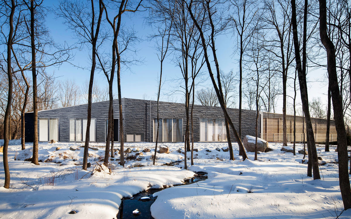 Yamakawa Architect D Rendering in Snow