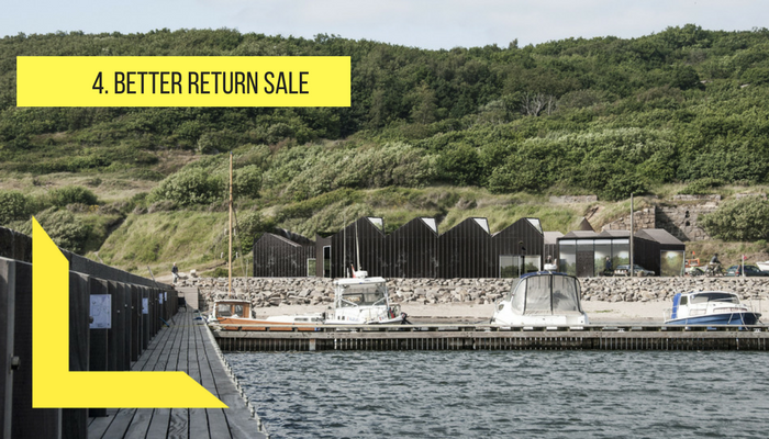 better to return your sale