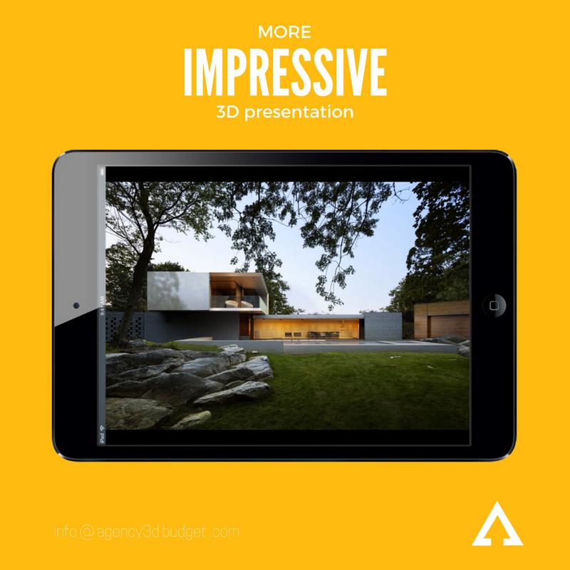 3d rendering help your impressive saale