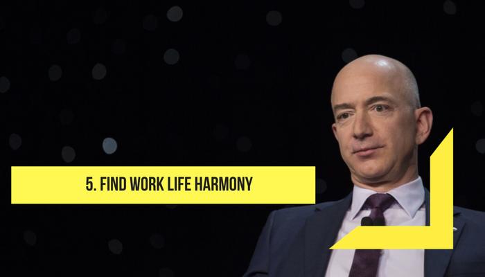 Find work life harmony