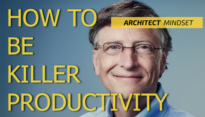 How to be effective like bill gate