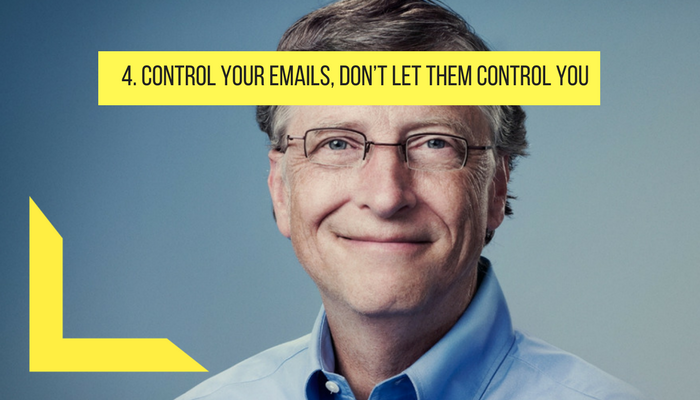 control your email