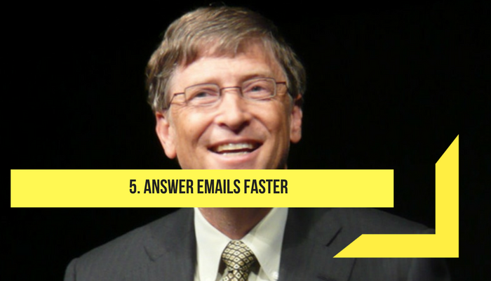 answer email faster