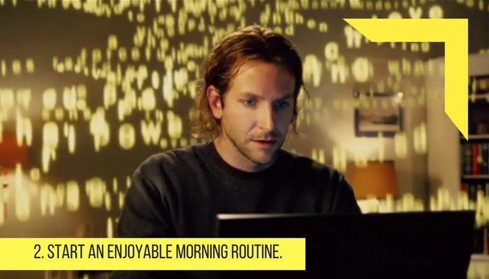 start and enjoyable morning routine