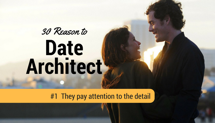 Architect pay attention to the detail