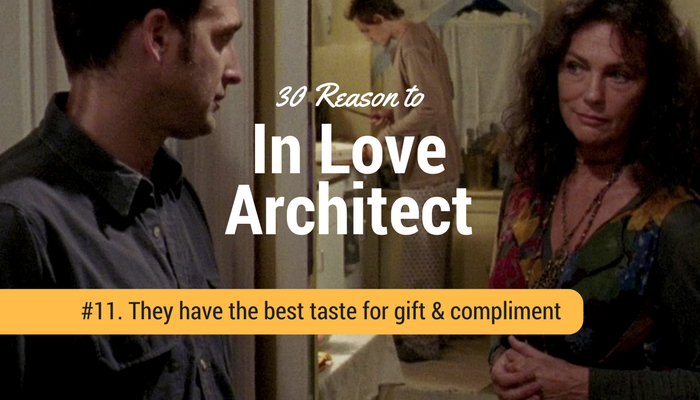 Architect have a best taste for girlfriend