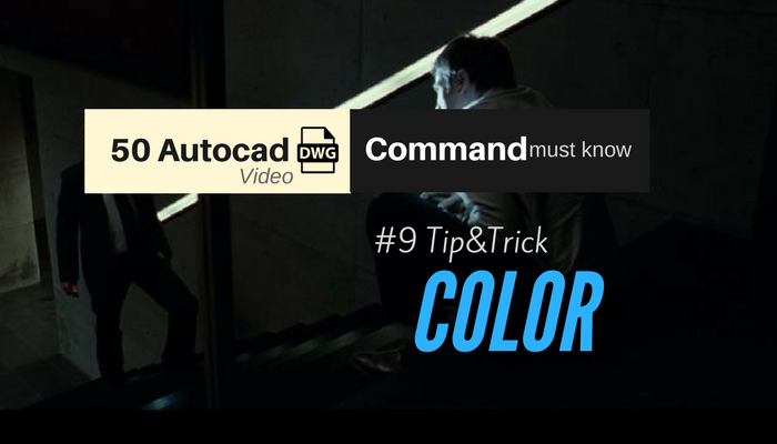 color autocad