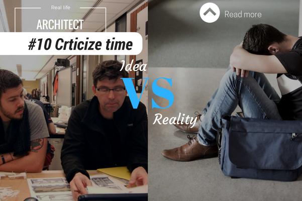 Architect reality criticize time