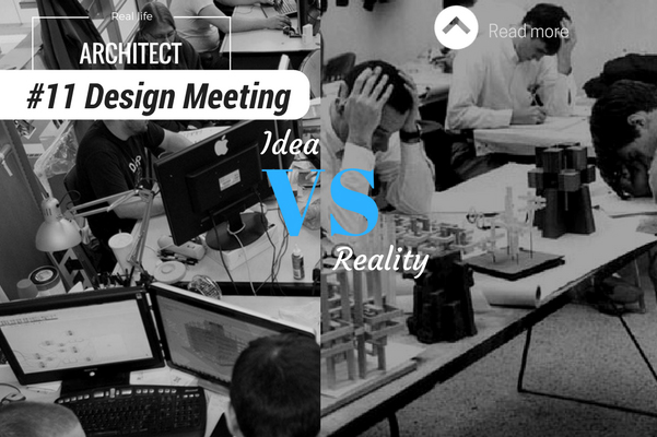 Architect reality design meeting