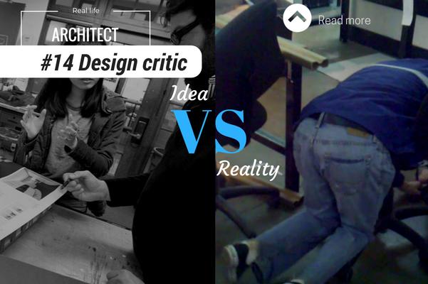 Architect reality design critic