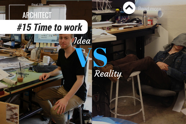Architect reality time to work