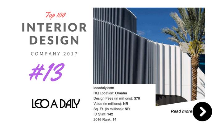 top 100 interior design company leo a day