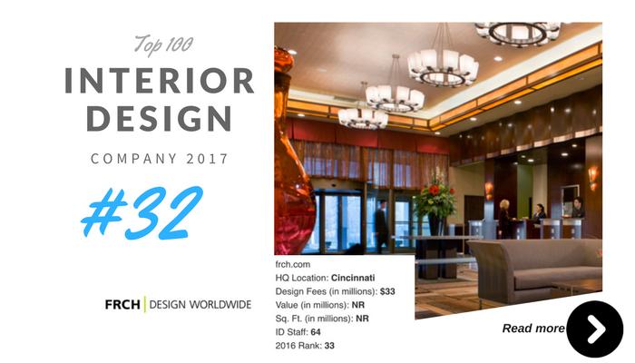 top 100 interior design company frch