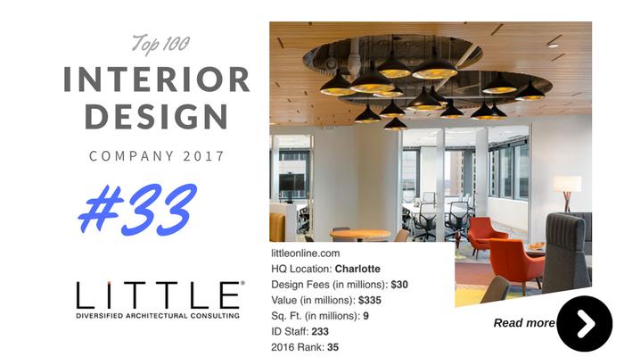top 100 interior design company little