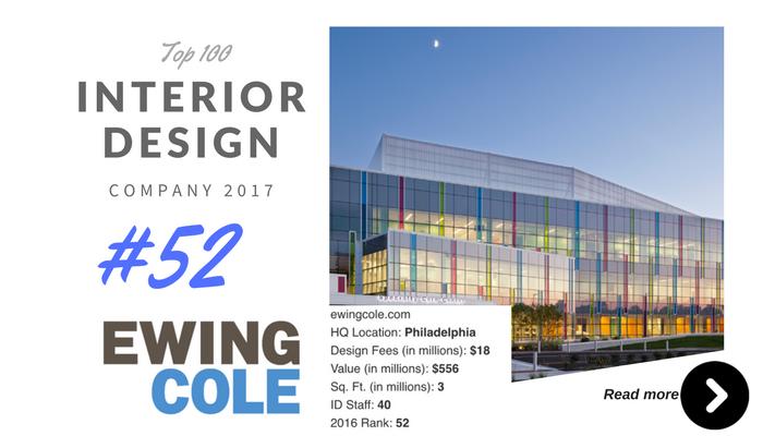 top 100 interior design company Enwing cole