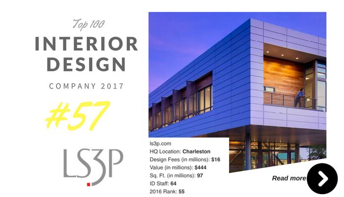 top 100 interior design company Ls3P