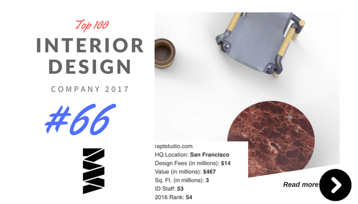 top 100 interior design company wm