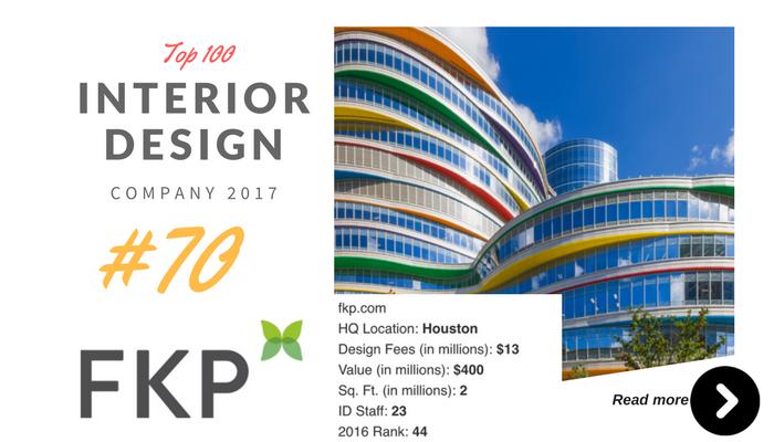 top 100 interior design company FKP