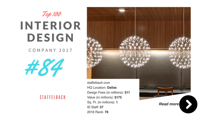 top 100 interior design company Stafflbach