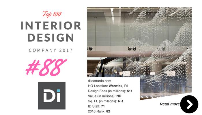 top 100 interior design company DI