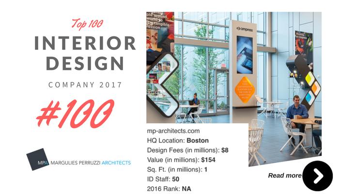 top 100 interior design company