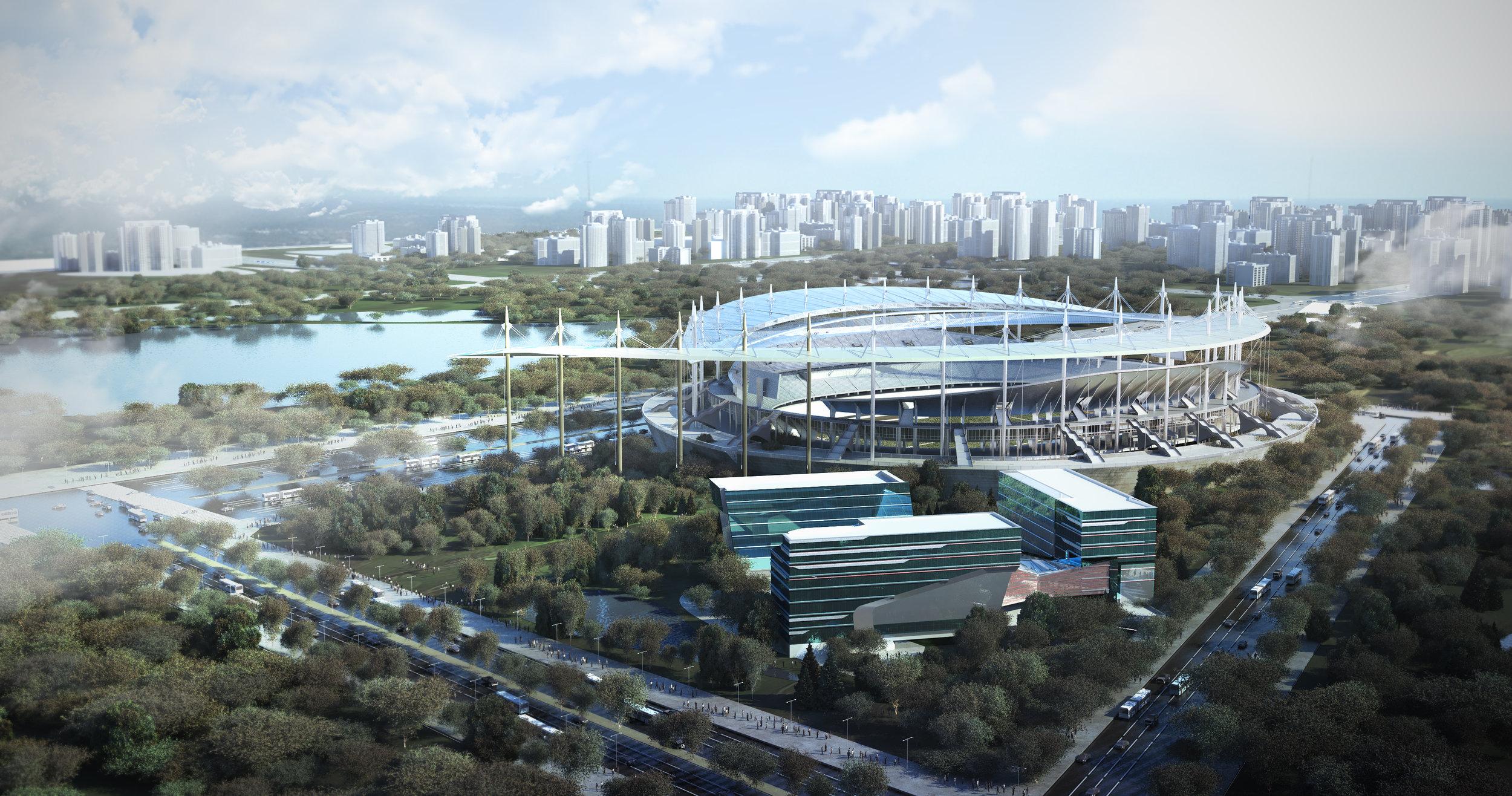 Sport complex stadium