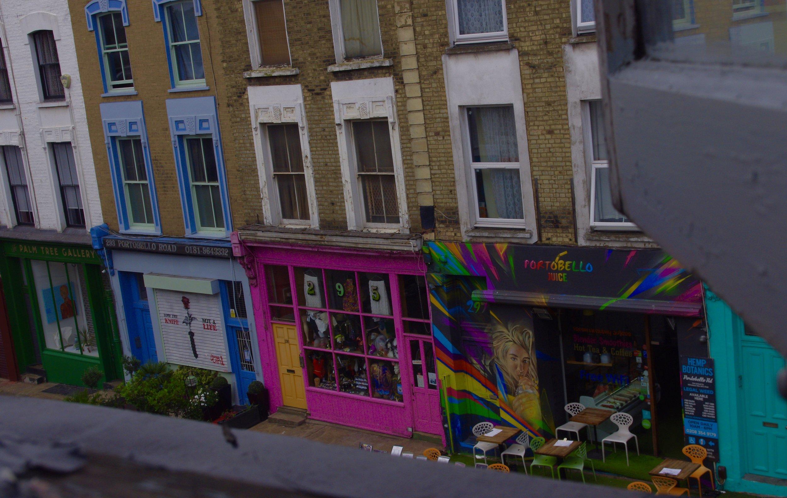 Portobella Rd, Notting Hill