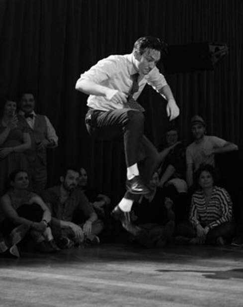 Alexandre - Alex has been dancing from a very early age. He started with breakdancing and other hip-hop dances. He has been teaching for the past ten years and took part in many competitions. Henceforth, his passion and his will to share continue with authentic jazz dances and Lindy Hop.