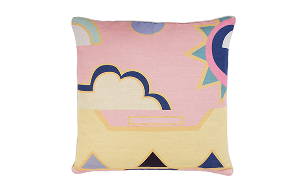 Custard Cloud Extra Large Cushion by Lisa Todd on katiecharleson.com