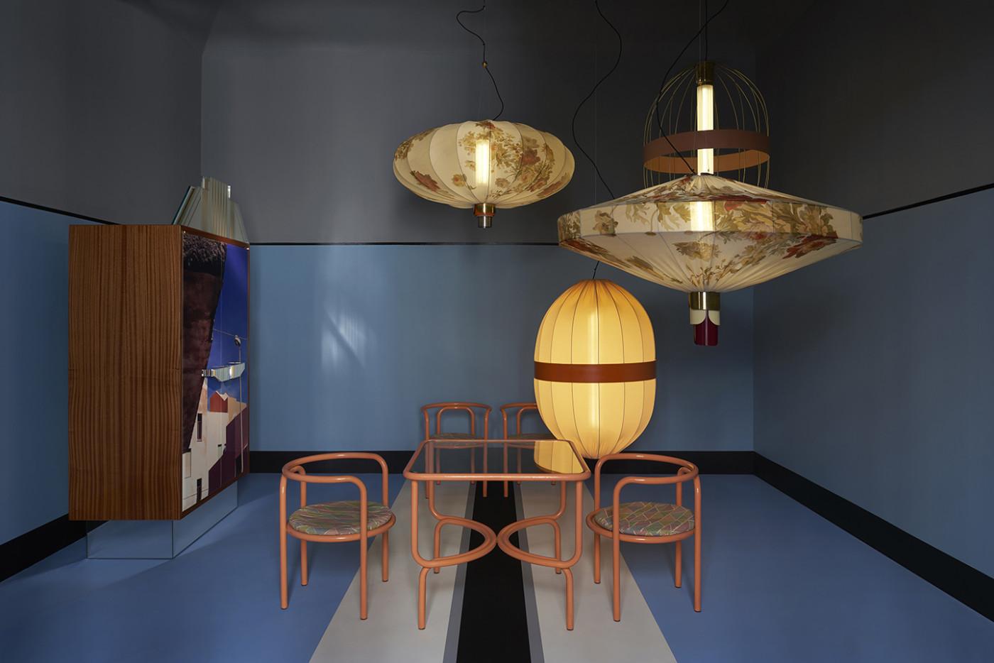 Dimore Studio 's Salone del Mobile 2017 showroom apartment. Photography: Paola Pansini