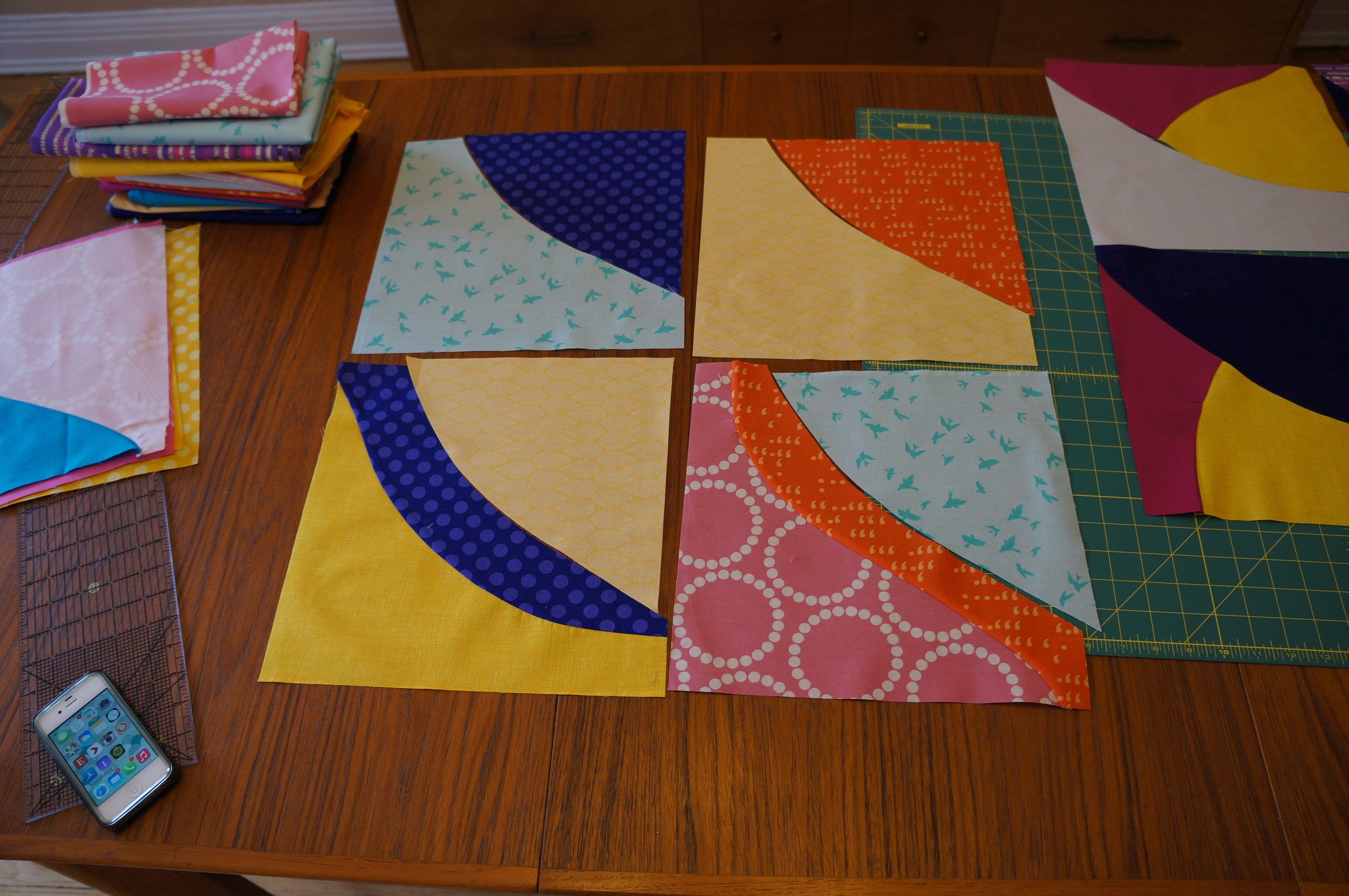 more blocks in progress