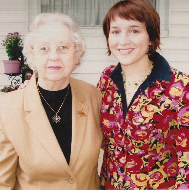 Grandma and me, 2001