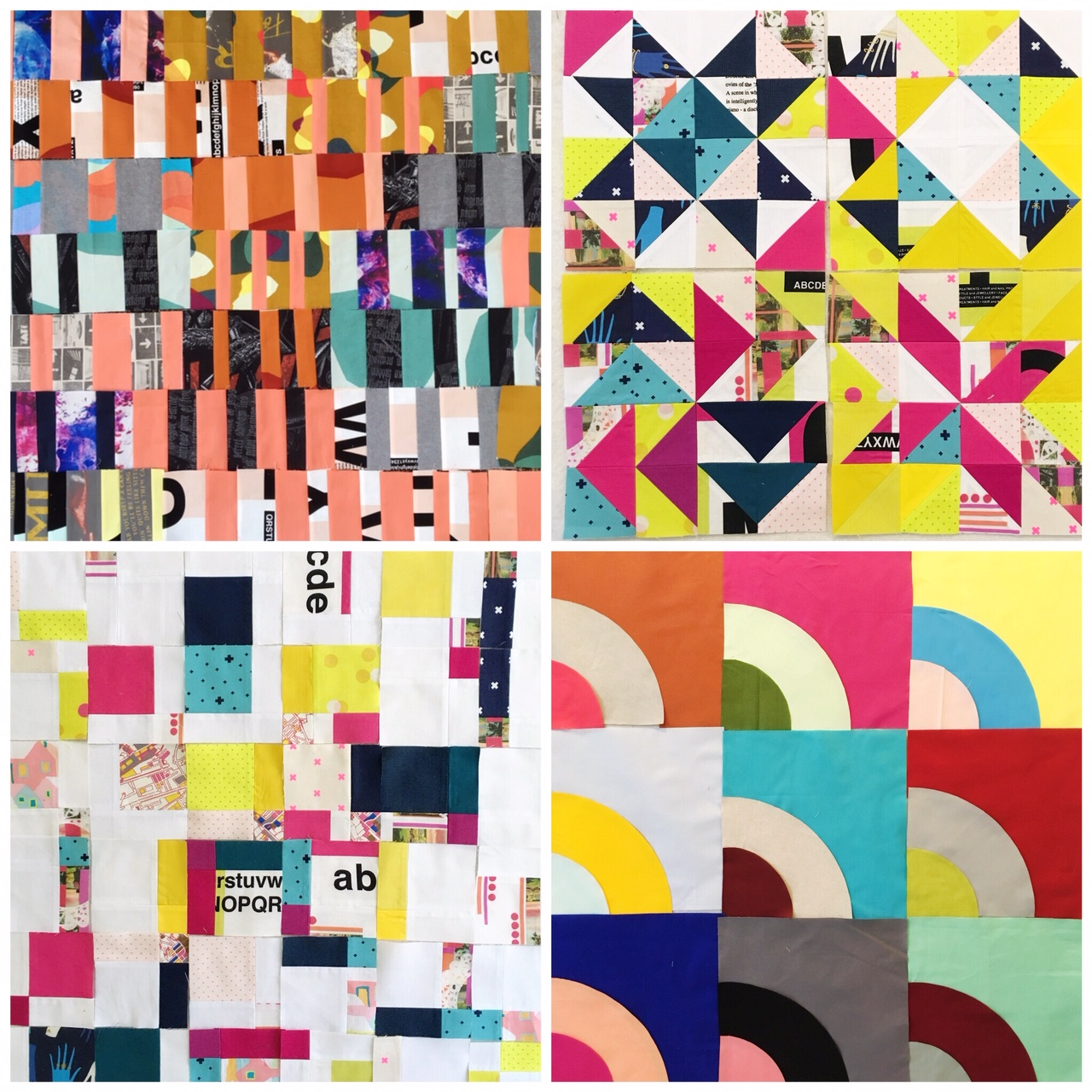 Example types of patchwork I can make for you!