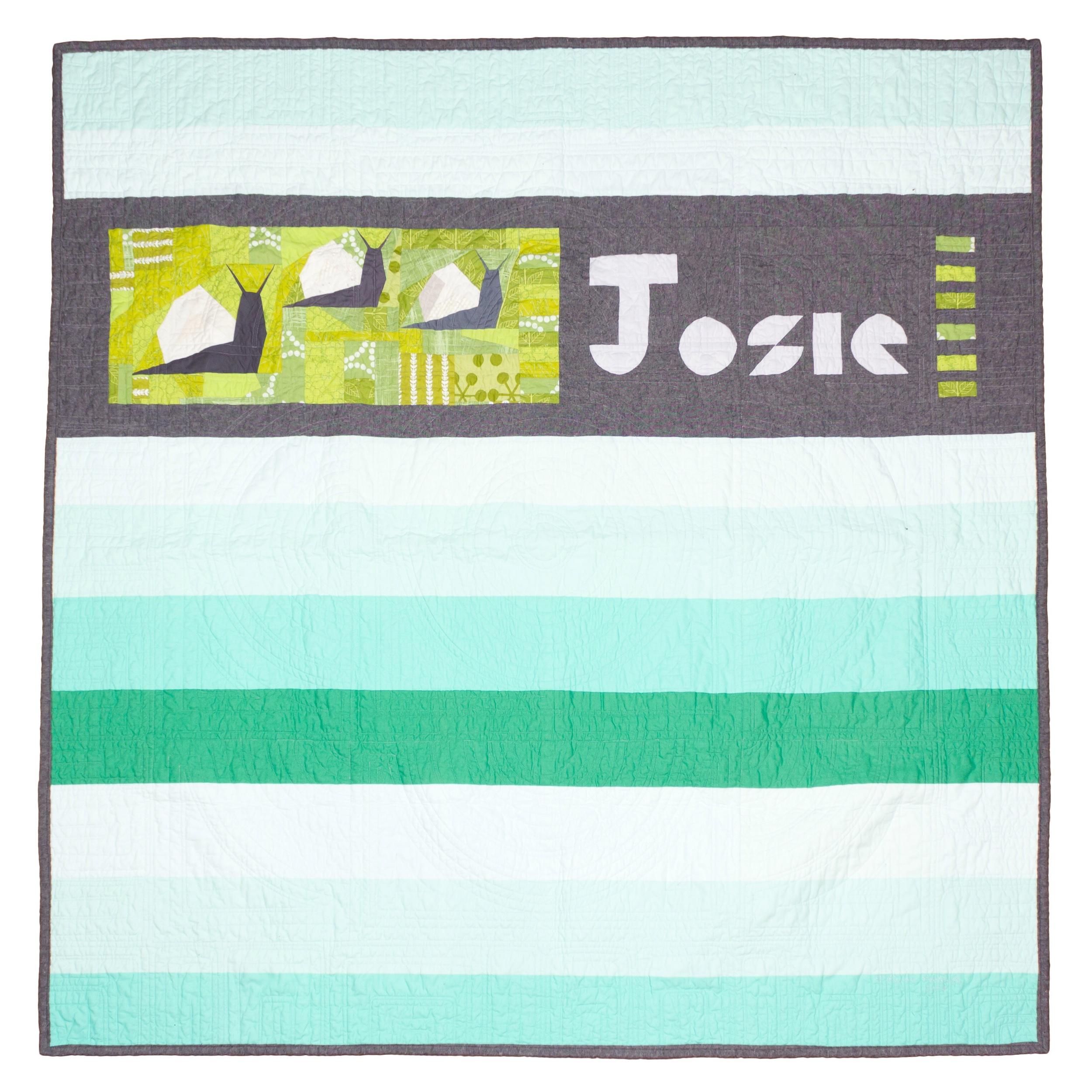 Josie's quilt, back