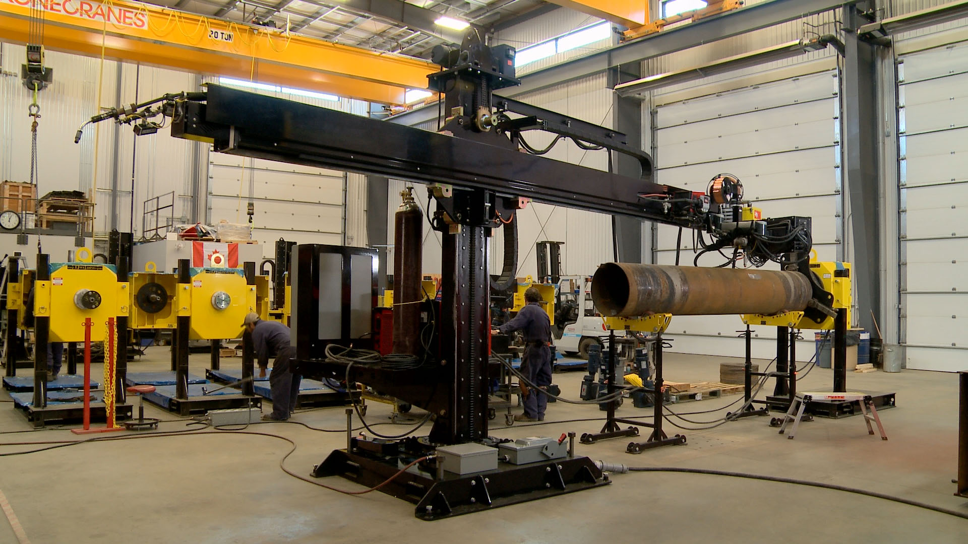 Column Boom Welding Manipulators