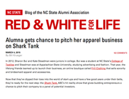 BLOG OF THE NC STATE ALUMNI ASSOCIATION