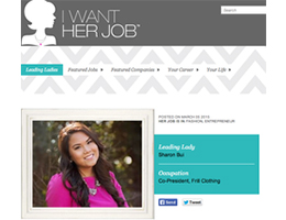 I WANT HER JOB
