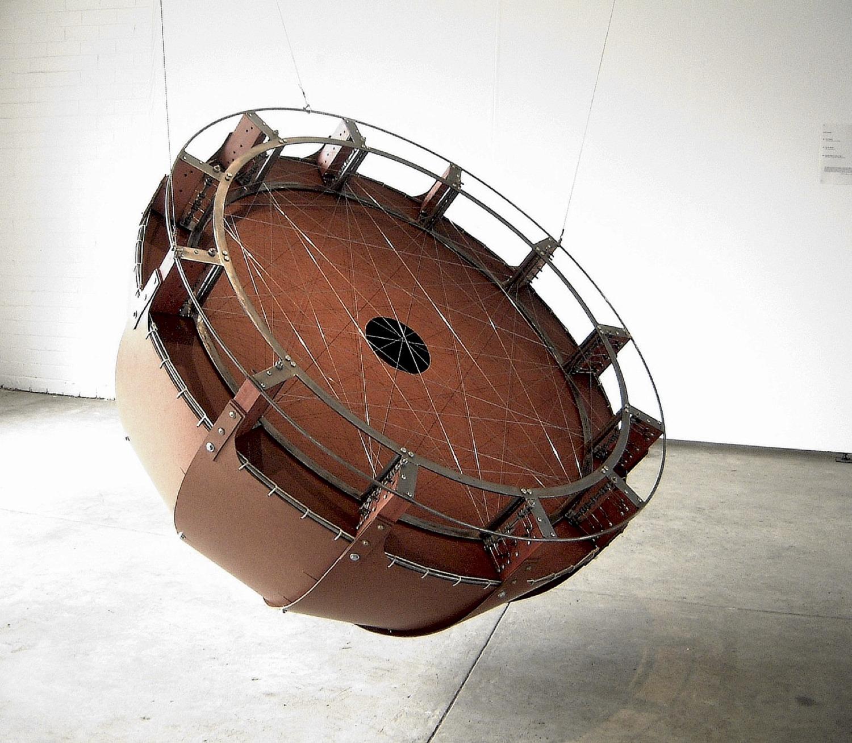 The Circular Harp  -  Yarra Sculpture Space -  2001