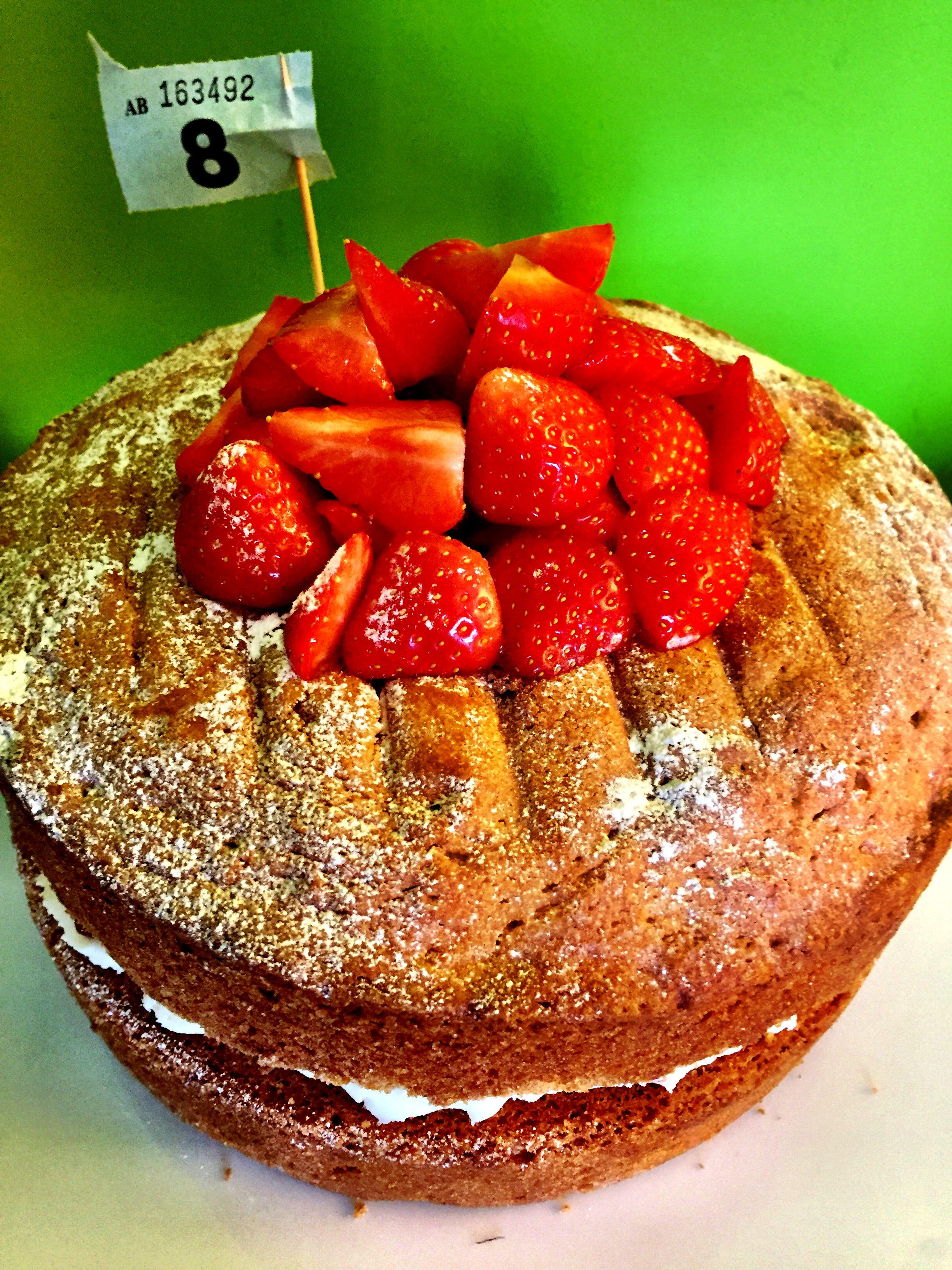 Mack Jenkins' winning cake