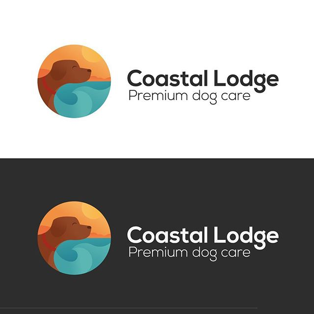 🐶🖊 a new identity for a premium dog care lodge opening on the west coast of Scotland 🌞 - #logo #illustrations #branding #design #graphicdesign #dog #dogs