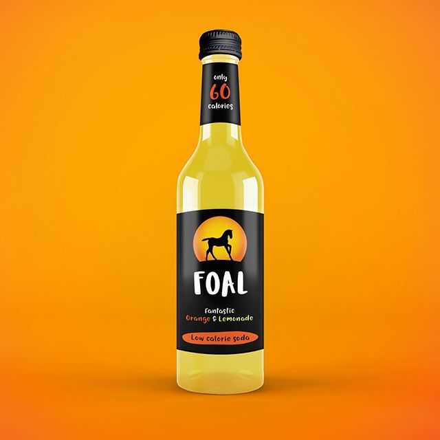 A fresh and playful look for the fantastic @foaldrinks 👍🍊🍋 - - #GRABaFOAL #madeinscotland #logo #glasgow #branding #design #graphicdesign #packaging #packagingdesign