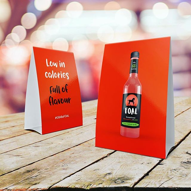 💡The best part about working with the fantastic @foaldrinks was being one of the first to try their amazing new flavours ❤️ - - #GRABaFOAL #madeinscotland #logo #glasgow #branding #design #graphicdesign #packaging #packagingdesign