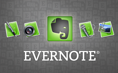 Evernote is one of the key tools I use.