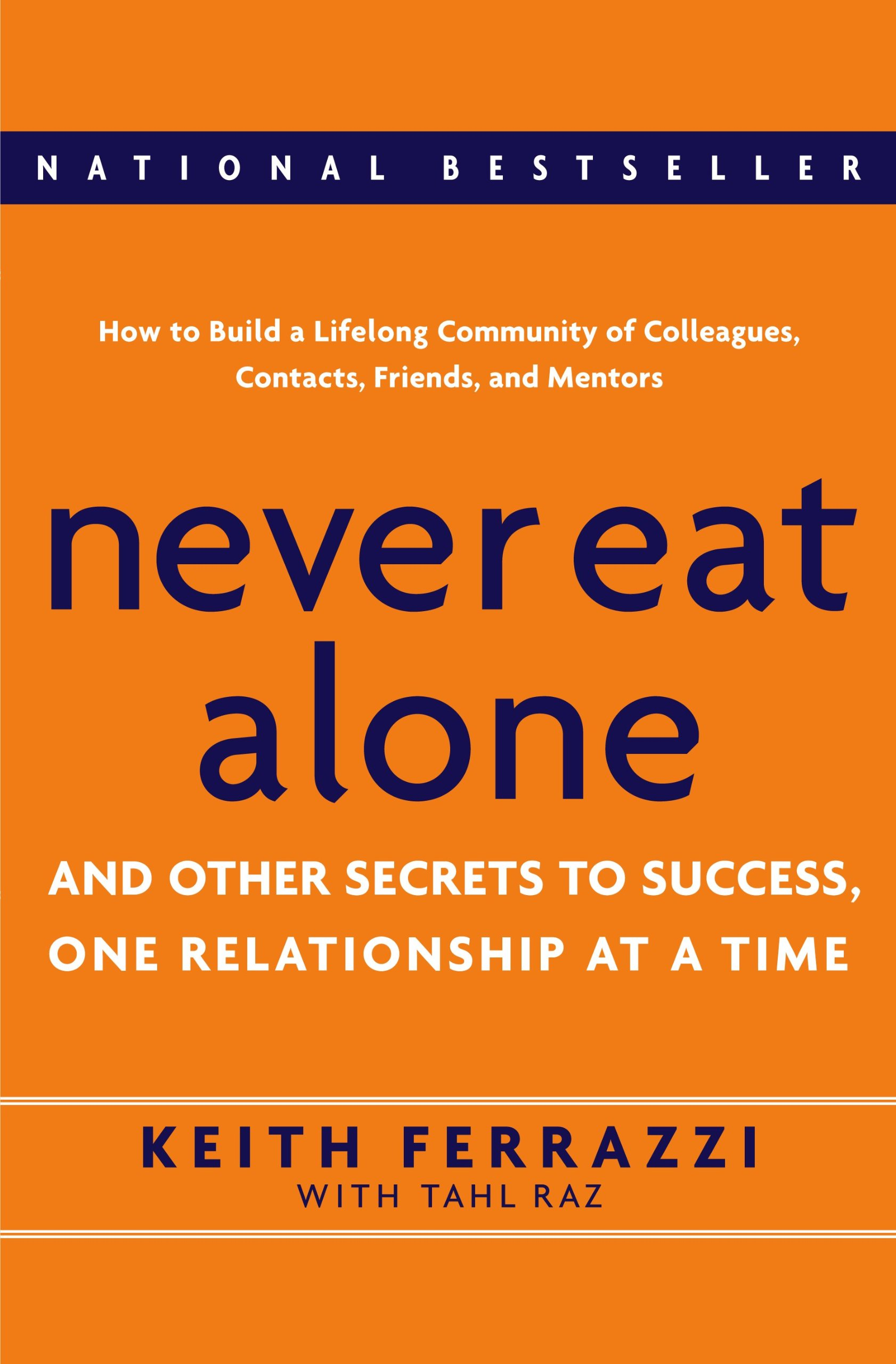 This is the best book on networking because he is a super, crazy networker who is networking every minute of every day.