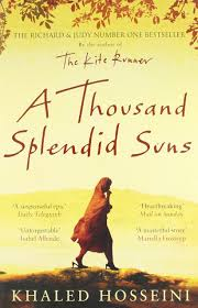 A Thousand Splendid Suns by Khaled Hosseini   This is my all-time favourite book.  Khaled has an amazing style to his writing that draws you into a world you we can never truly comprehend. Mariam is only fifteen when she is sent to Kabul to marry Rasheed. Nearly two decades later, a friendship grows between Mariam and a local teenager, Laila, as strong as the ties between mother and daughter. When the Taliban take over, life becomes a desperate struggle against starvation, brutality and fear. Despite this, these women,  act in unexpected ways, and lead them to overcome the most daunting obstacles with a startling heroism.  A story of amazing strength and endurance.