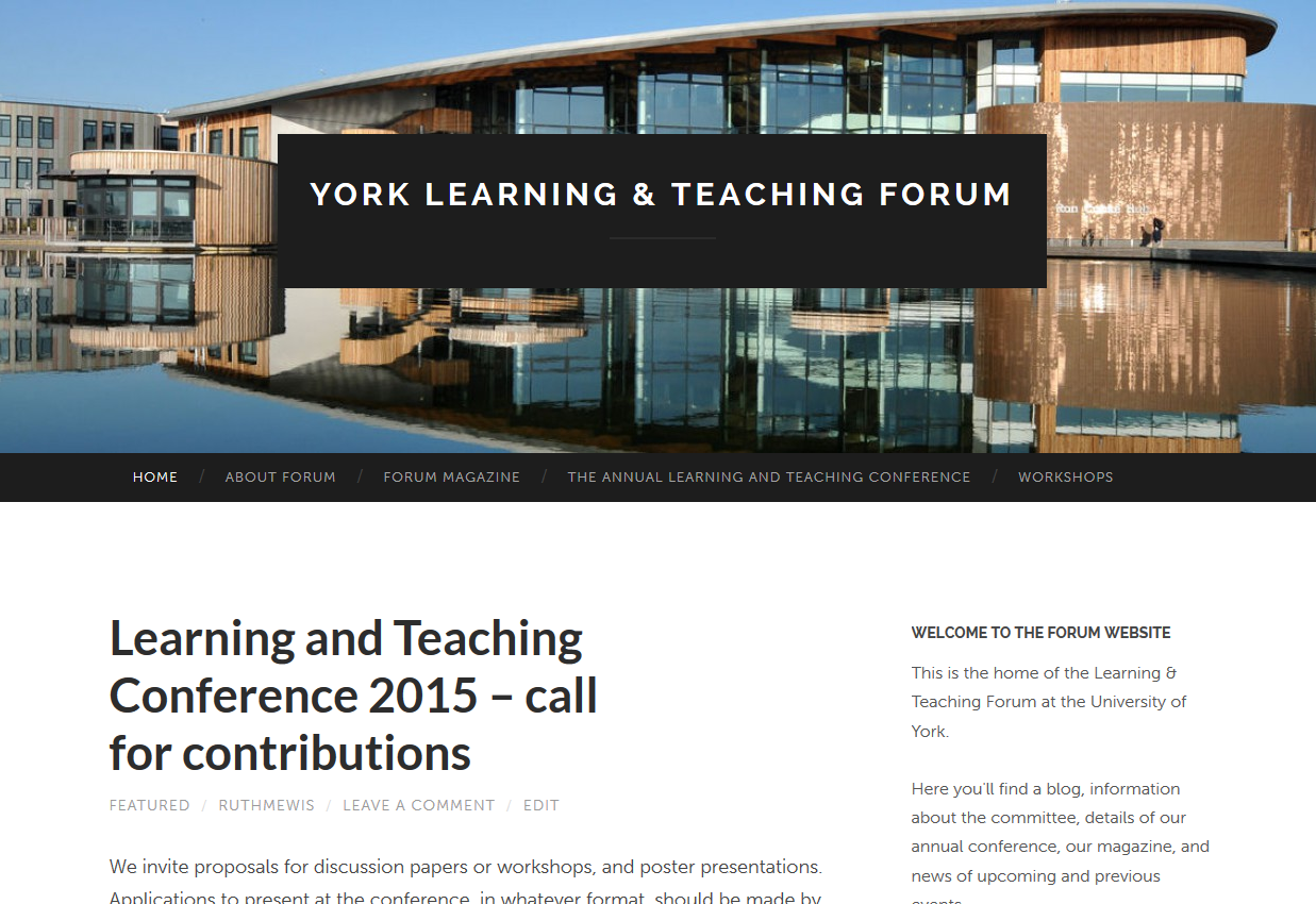 Click to go to yorkforum.org - created in Wordpress.com