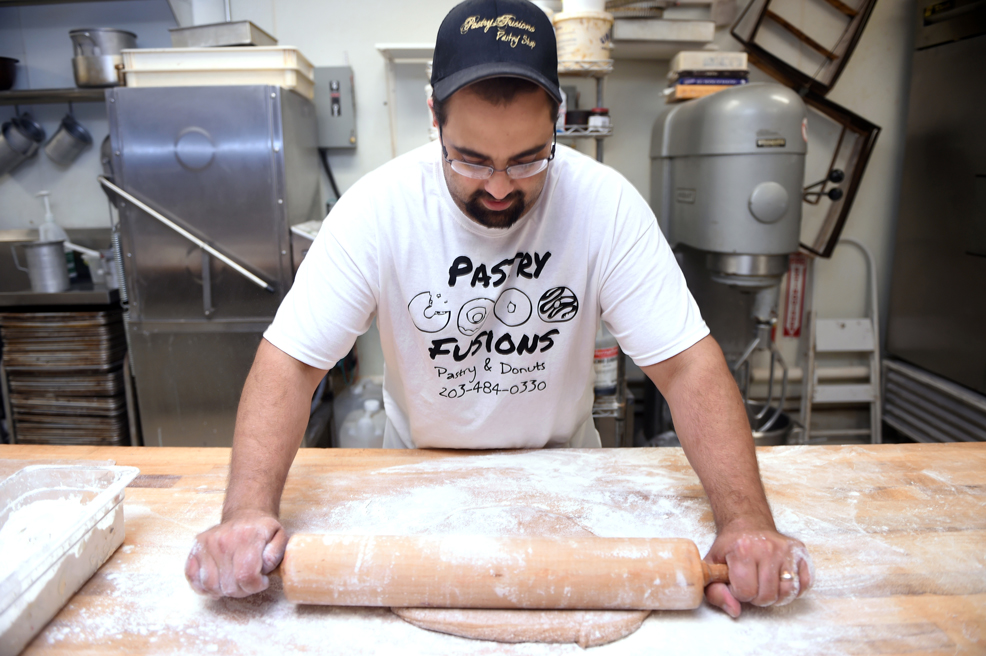 Owner and Head Baker, Frank Apuzzo.