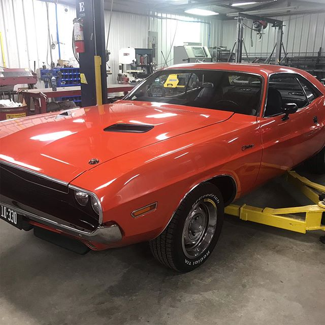 A few projects from around the shop. Team is doing great meeting our customers needs and we have the '70 Mustang on the lift to get it back on a burner too. #manmadelegends