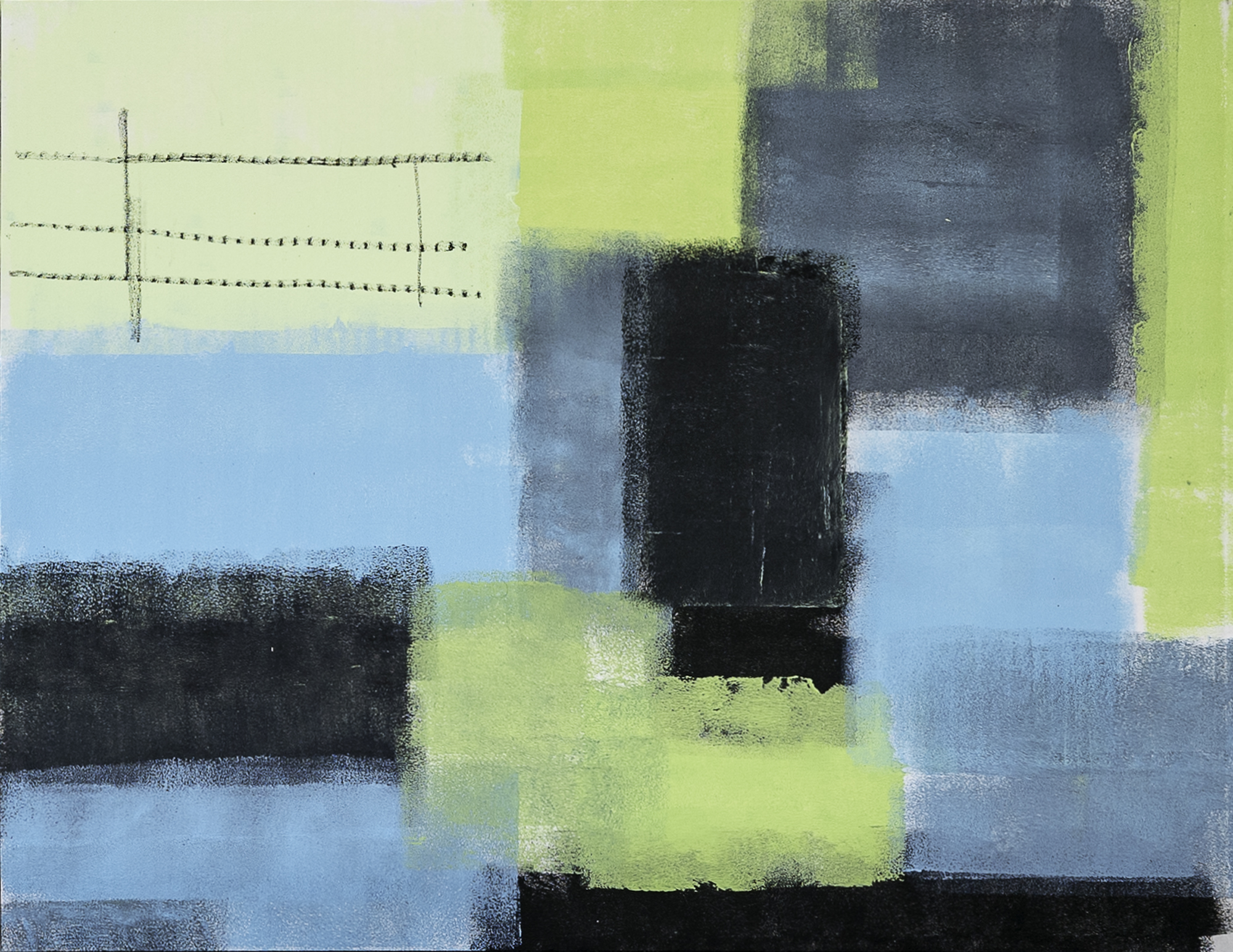 """""""Memoryscapes: Blurry Lines III No. 14"""""""