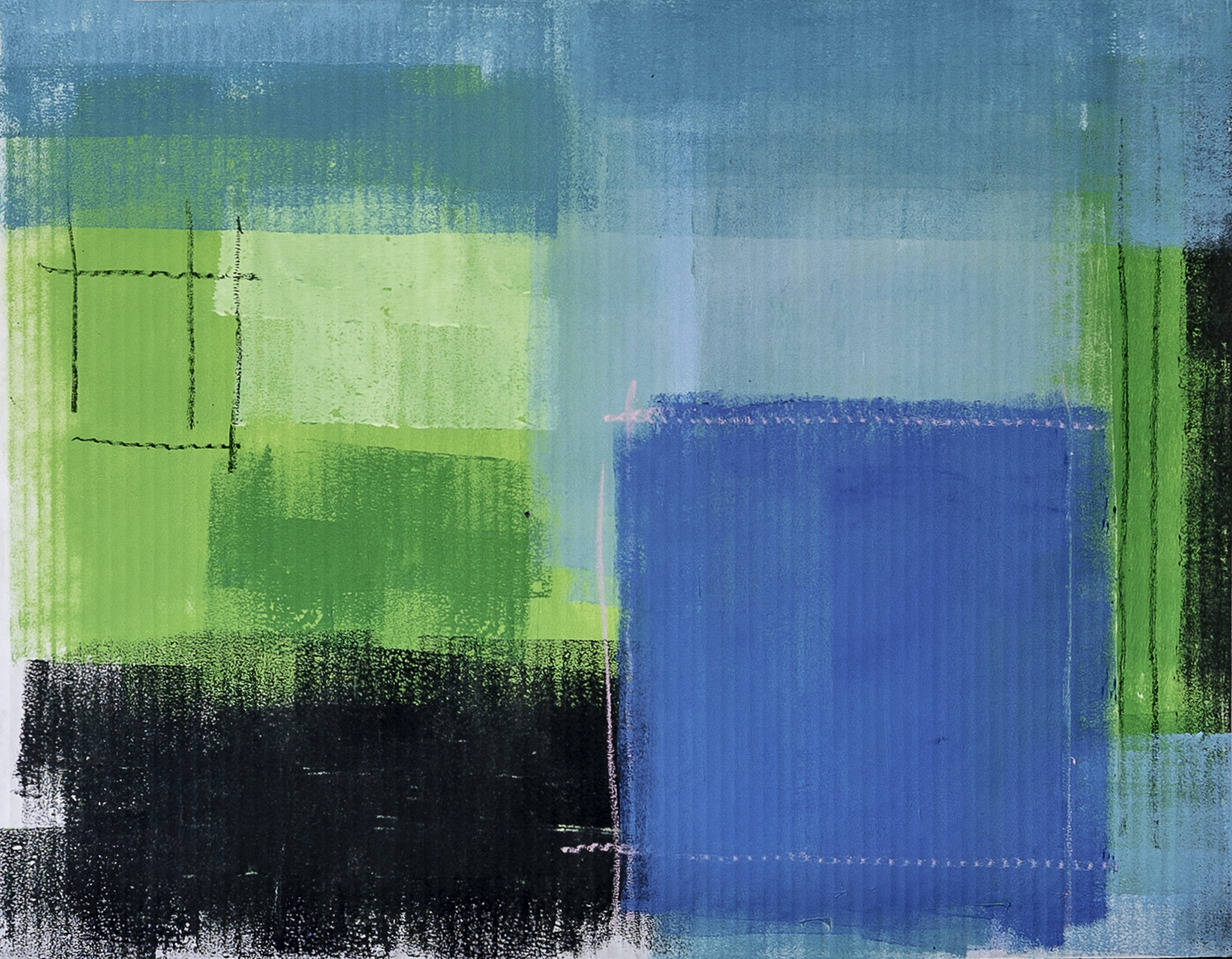 """""""Memoryscapes: Blurry Lines III No. 15"""""""